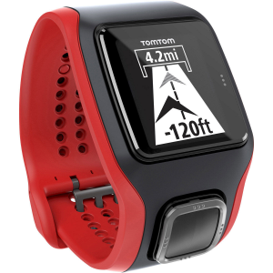 tomtom runner cardio gps watch- Save 29% Off - Stay motivated longer and reach your running goals faster with the TomTom Runner Cardio, a GPS watch with a built-in heart rate sensor so you can ditch that uncomfortable chest strap. The Runner Cardio provides easy access to the information you need to track your progress and boost your performance, and lets you sync your data to your favorite fitness app to analyze and share. Built-in sensors monitor the changes in blood flow in your wrist to accurately measure your heart rate without the need for a separate chest strap. Extra-large, high-resolution, high-contrast display lets you view distance, run time, and pace at a glance; durable display screen is scratch- and impact-resistant for easy reading, run after run. Set a distance, time, or calorie goal and check your progress in a simple full-screen graphic. Race feature compares your current run with past performances for continued improvement. Set a target for pace or heart rate and instantly see if youre in the right zone with a simple full-screen graphic. Beeps and vibrations provide milestone, lap, and training alerts. Built-in sensors count your strides so you can still track pace and distance on the treadmill. QuickGPSFix technology helps your watch find your precise location quickly so you can start your run. Multi-platform compatibility lets you sync, analyze, and share your fitness data on popular running sites and apps, including TomTom MySports. Desk Dock connects your watch to your PC or Mac for easy charging and data syncing. Rechargeable battery lasts up to 8 hours using b