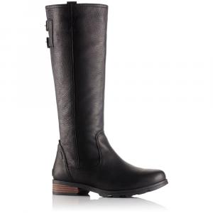 Sorel Women's Emelie Tall Premium Waterproof Boots, Black - Size 6