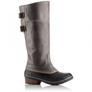 Sorel Women's Slimpack Riding Tall Ii Waterproof Boots, Quarry/pebble - Size 6