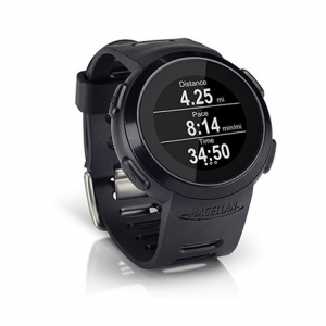 magellan echo watch with heart rate monitor- Save 50% Off - Using a fitness app on your smartphone is a great way to keep track of your workouts, but it's a pain to have to wait until you're done to look at all of your data. Enter the Magellan Echo Watch: it connects to your  iPhone to show all that data in real time so you can monitor your workout while you're working out. . Stream data like pace and distance from the fitness app on your phone right to your wrist so you can monitor your stats in real time. Included heart rate monitor provides additional training data to maximize each workout. Open platform ensures compatibility with the apps of today and tomorrow-Strava, MapMyRun, Wahoo Fitness, iSmoothRun, AllTrails, and Golf Pad are available now with more to follow. Apps control the Echo experience including the messages displayed on the screen, whether its encouraging words from a friend, instructions for your next interval, or notification of an achievement. Remotely control your music and app functions like start, stop, and lap via Echos tap screen. Bluetooth Smart technology creates a low-power connection between your smartphone and the watch to stream data and remotely control your apps. Rugged, water-resistant watch is safe to wear in heavy rains or the shower (not suitable for swimming). Sleek design and standard watch functions (time/date/day) make Echo perfect for tech-savvy athletes. Compatible with iPhone 4S, 5, and newer. 1-inch, high-resolution display allows for superior readability in varying light conditions; includes a backlight for dark conditions. Screen bac