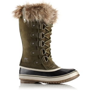 Sorel Women's 12 In. Joan Of Arctic Waterproof Boots, Nori/dark Stone - Size 6