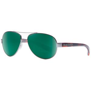 Native Eyewear Haskill Sunglasses, Maple Tort/green Reflex