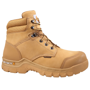 Gear up for a day of hard work with these Rugged Flex work boots from Carhartt. Crafted of...