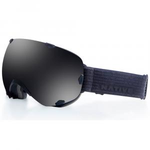 Native Eyewear Spindrift Goggles, Black Jack/dark Gray