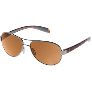 Native Eyewear Haskill Sunglasses, Chrome Maple Tort/brown
