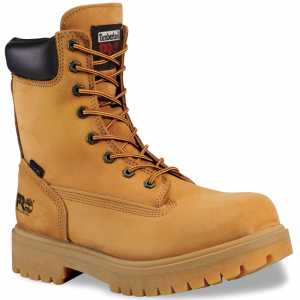 Timberland Pro Men's 8 Inch Soft Toe Waterproof Work Boots, Wide