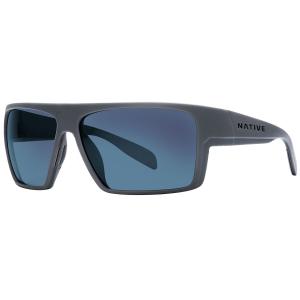 Native Eyewear Eldo Sunglasses Granite/matte Black/granite, Blue Reflex