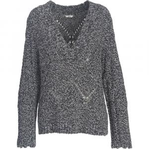 Woolrich Women's Lambswool Blend V-Neck Sweater