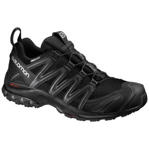 Salomon Men's Xa Pro 3D Cs Wp Trail Running Shoes, Black - Size 8