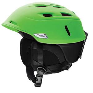Smith Camber Snow Helmet, Reactor Black