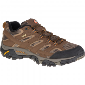 Merrell Men's Moab 2 Gore- Tex Hiking Shoes, Earth - Size 7