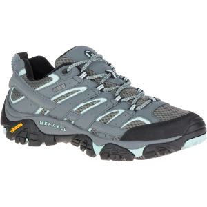 Merrell Women's Moab 2 Gore-Tex Waterproof Hiking Shoes, Sedona Sage - Size 5