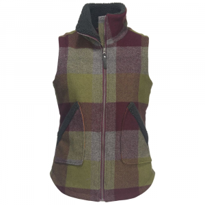 Woolrich Women's Giant Buffalo Wool Vest Ii