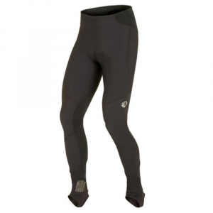 pearl izumi men's elite amfib tights- Save 30% Off - A warm, water-resistant tight built for cold-weather rides, the Elite AmFIBA(R) provides superior protection from the elements, and Thermal Fleece fabric for extra insulation.  41% nylon, 41% polyester, 13% elastane, 5% polyurethane.  Thermal panels: 56% nylon, 30% polyester, 14% elastane.  Water and wind resistant.  ELITE Thermal Fleece fabric panels on back for moisture transfer and warmth.  Internal stirrup and gasket allow tight to be worn over shoe covers.  360-degree reflectivity.  Form fit.  Imported