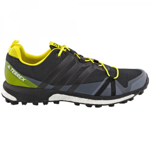 Adidas Men's Terrex Agravic Trail Running Shoes, Black/yellow - Size 8.5