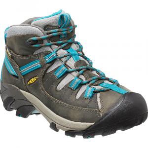 Keen Women's Targhee Ii Mid Waterproof Hiking Boots, Gargoyle/caribbean Sea - Size 9