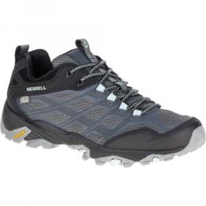 Merrell Women's Moab Fst Waterproof Shoe, Granite - Size 9