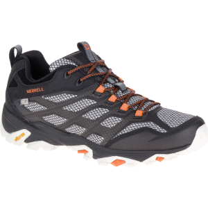 Merrell Men's Moab Fst Waterproof Wide Sneaker, Black - Size 8
