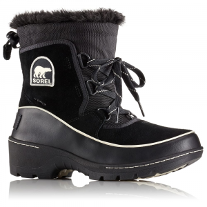 Sorel Women's 8 In. Tivoli Iii Waterproof Boots, Black/light Bisque - Size 6
