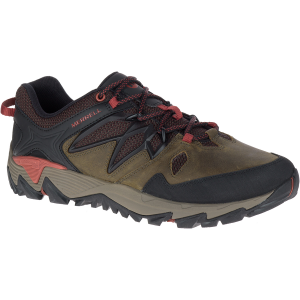 Merrell Men's All Out Blaze 2 Hiking Shoes, Dark Olive - Size 9