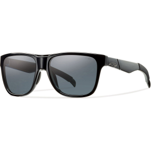Smith Lowdown Sunglasses, Black/polarized Grey