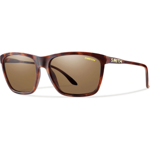 Smith Delano Sunglasses, Matte Tortoise/polarized Brown