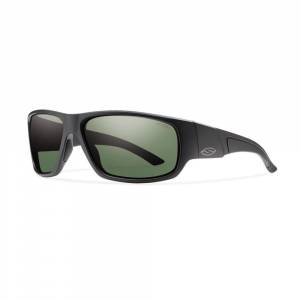 Smith Discord Sunglasses, Matte Black/polar Gray
