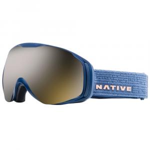 Native Eyewear Upslope Goggles, Slate/snowtuned Silver