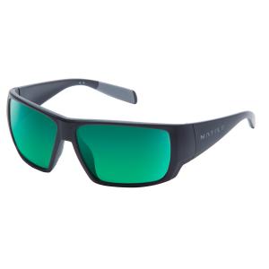 Native Eyewear Sightcaster Sunglasses, Matte Black/green Reflex
