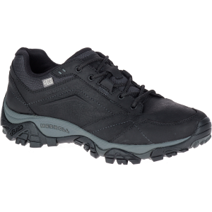 Merrell Men's Moab Adventure Lace Up Waterproof Shoes, Black - Size 7