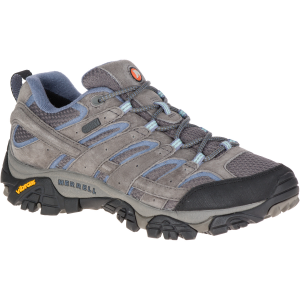 Merrell Women's Moab 2 Waterproof Hiking Shoes, Granite - Size 5