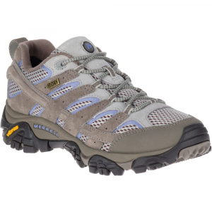 Merrell Women's Moab 2 Waterproof Hiking Shoes, Falcon - Size 5