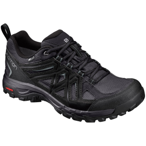 Hit the trail with the Salomon\\\'s Evasion 2 CS WP shoes. Equipped with Climashield waterproof...