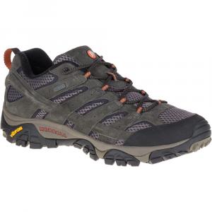 Merrell Men's Moab 2 Waterproof Hiking Shoes, Beluga, Wide - Size 8.5