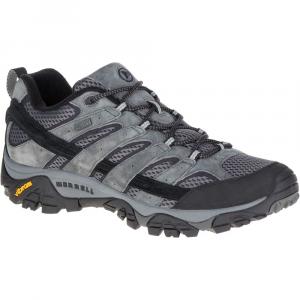 Merrell Men's Moab 2 Waterproof Hiking Shoes, Granite - Size 8