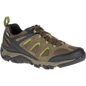 Merrell Men's Outmost Ventilator Waterproof Hiking Shoes, Boulder - Size 8
