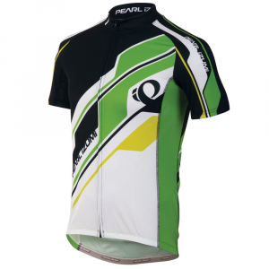 Pearl Izumi Men's Elite Ltd Cycling Jersey, Green Flash