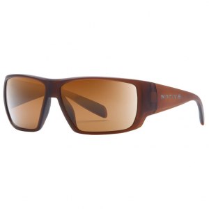 Native Eyewear Sightcaster Sunglasses, Matte Brown Crystal/brown