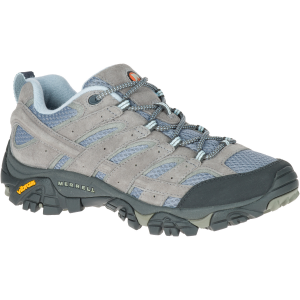 Merrell Women's Moab 2 Ventilator Hiking Shoes, Smoke, Wide - Size 6