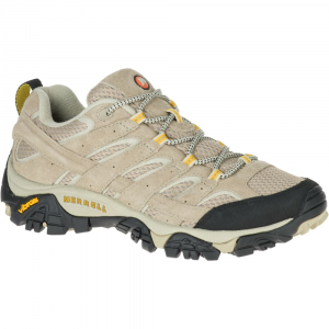 Merrell Women's Moab 2 Ventilator Hiking Shoes, Taupe, Wide - Size 5