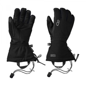 outdoor research women's southback gloves- Save 29% Off - A GORE-TEX liner and lighter insulation across the leather palms give this glove excellent tactile feel on your pole grips and bomber durability. The mid-length gauntlet is big enough to fit over your jacket cuff, and keeps the snow out on steep, deep powder days.This product will be shipped directly from Outdoor Research and will leave their warehouse in 2-3 business days. Eligible for UPS ground shipping only. Windproof. Wicking. Waterproof. Supercinch gauntlet closure. Soft and tactile leather palm. Removable idiot cord. Pull loop. Nose wipe on thumb. Breathable. Pre-curved construction.