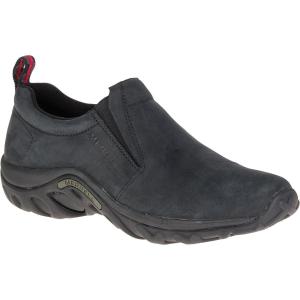 Merrell Men's Jungle Moc Nubuck Shoes, Black - Size 9