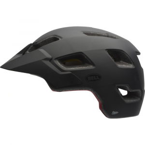 bell stoker bike helmet- Save 21% Off - A go-to helmet with a great balance of substance and style, the Bell Stoker is the all-mountain helmet you need to step up your trail riding game.  Multi-directional Impact Protection System (MIPS) is a leading slip-plane technology inside the helmet designed to reduce rotational forces that can result from certain impacts.  Airflow Brow Band and 13 specially designed ventilation channels bring cool air in through the front, pass it over your head, and flush warm air out of the rear ports.  Coolmax paddling pulls perspiration away from your head to keep you feeling cool and comfortable.  Speed Dial fit system lets you achieve a glove-like fit with just a simple twist of the dial.  Cam-lock strap levers make strap adjustments super easy: just open the cam, find a comfortable position, and close the lever again.  Adjustable visor.