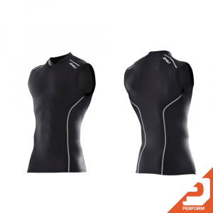 Image of 2XU Men's Sleeveless Compression Top