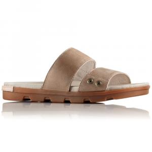 Sorel Women's Torpeda Ii Slide Sandals, Sahara/fossil - Size 7