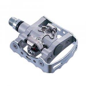 shimano m324 bike pedals- Save 17% Off - Shimano M324 clipless SPD platform mountain bike pedals combine the efficiency and power of the SPD system with the convenience of a platform pedal. Adjustable cleat tension for rider preference. Sealed mechanism with serviceable cup and cone bearings. One-sided; no pop-up floating cage. Spindle thread BC 9/16 in. x 20 T.P.I.. Chromoly spindle. Aluminum/painted pedal body. Cleat retention indicator. One pair cleats included. Weighs 533 g (per pair).