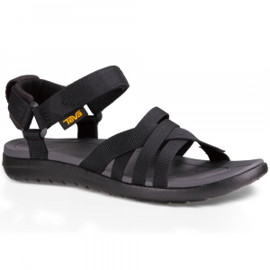 Teva Women's Sanborn Sandals, Black - Size 8