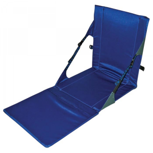 Crazy Creek Unisex Powerlounger Chair, Grey/royal
