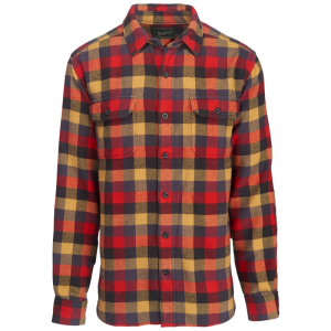 Woolrich Men's Oxbow Bend Plaid Flannel Shirt, Modern Fit - Size M
