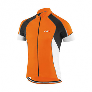 Louis Garneau Men's Lemmon Vent Bike Jersey, Orange Fluo